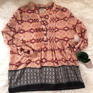 Anthropologie HD Size 4 Tunic Shirt